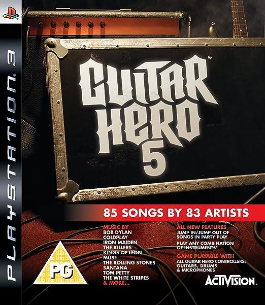Guitar Hero 5 - Game Only (PS3) [Importación inglesa]: Amazon.es: Videojuegos