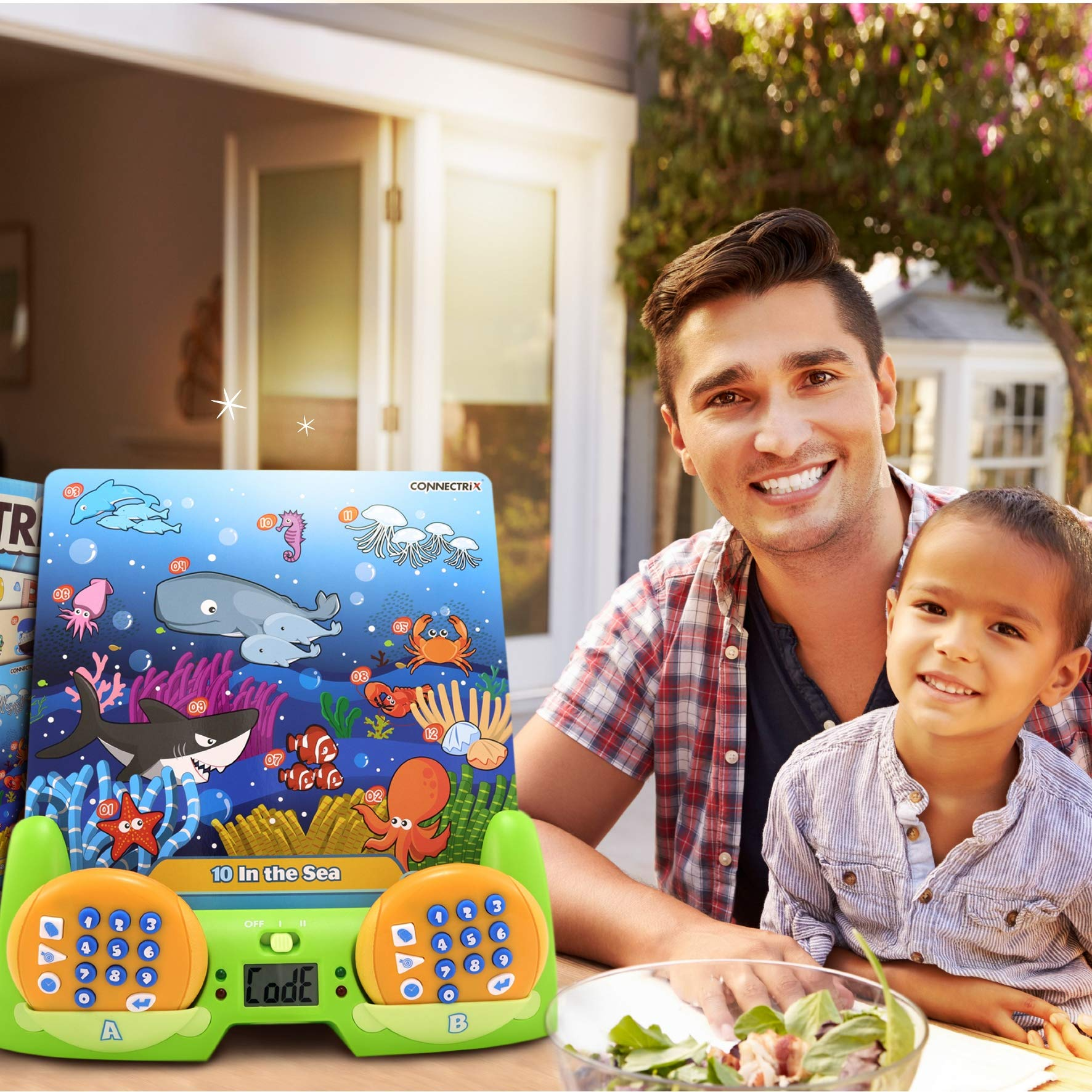 BEST LEARNING Connectrix Junior - Memory Matching Game for Kids - Original Interactive Educational Match Cards Toddler Games for 3-8 Year Olds - Classic 2-Player Concentration Card Toys for Toddlers by BEST LEARNING (Image #8)