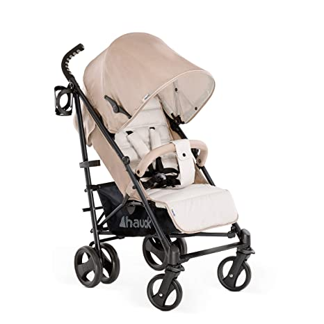 Hauck Vegas - silla de paseo con posiciones, plegado compacto, ligera, chasis aluminio