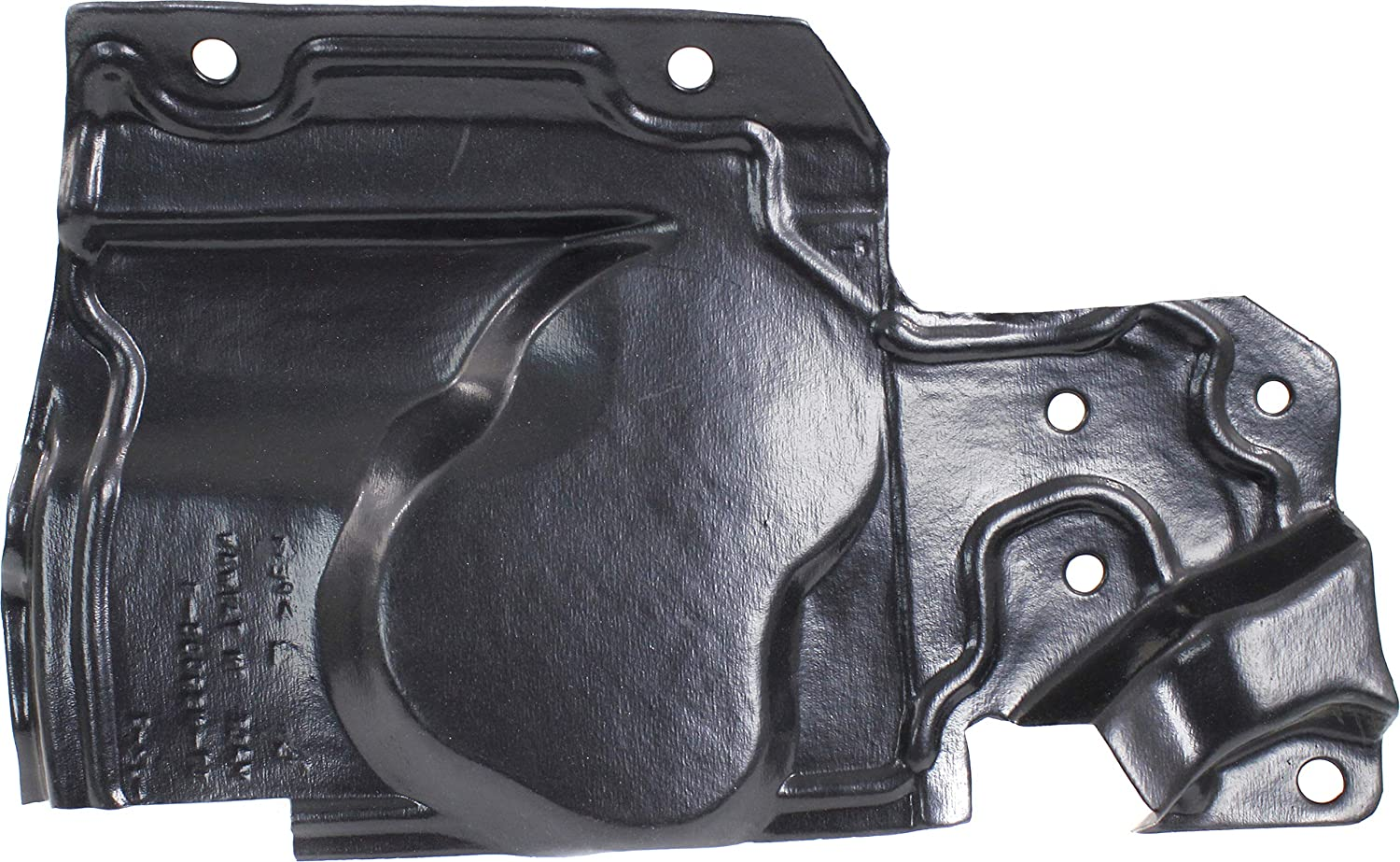 Hybrid Model 17-17 Engine Splash Shield Compatible with 2014-2018 Nissan Rogue Under Cover, Driver Side