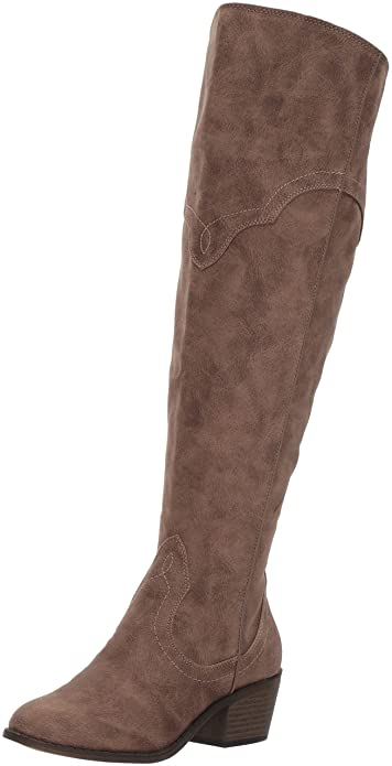 Fergalicious Women's Bata Wide Calf Western Boot