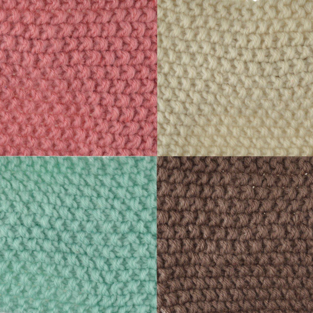 DRESHOW 4 Piezas Crochet Arco Turbante Knit Diadema Mujer Invierno Vendas  Elasticas Anchas Tejida Lana Cintas Para El Pelo Banda de pelo más cálido  ... 4e43265b8d6d
