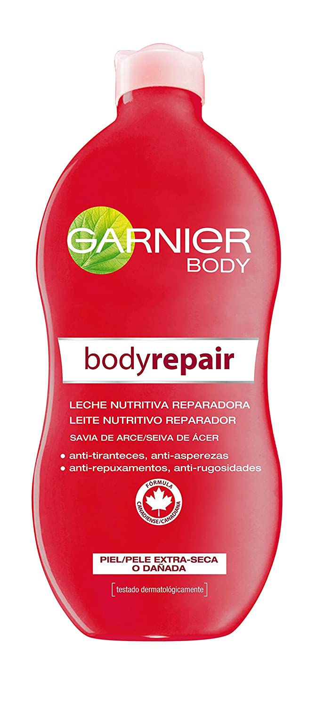 Garnier Body–Body Repair–Latte nutritiva per riparazioni per pelle Extra asciutta–400ml L' Oréal 32181