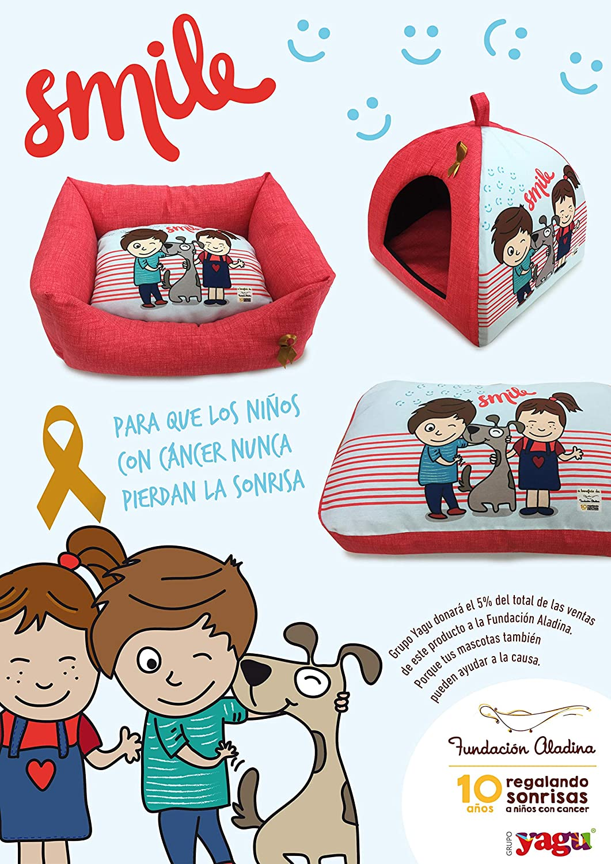 Yagu Aladina Cuna Smile T3 63x51x21 cm: Amazon.es: Productos para mascotas