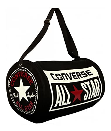 229166085c5 Amazon.com | Converse Chuck Taylor All Star Legacy Duffle Bag - Black |  Travel Duffels