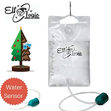 Elf Logic - Automated Christmas Tree Waterer - Smart Tree Watering System -  Senses When Water - Amazon.com: Elf Logic - Automated Christmas Tree Waterer - Smart