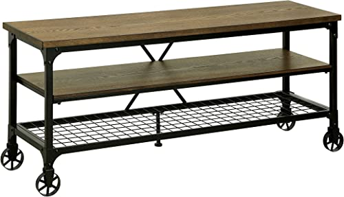 HOMES: Inside Out ioHOMES Engels Industrial 54 TV Stand