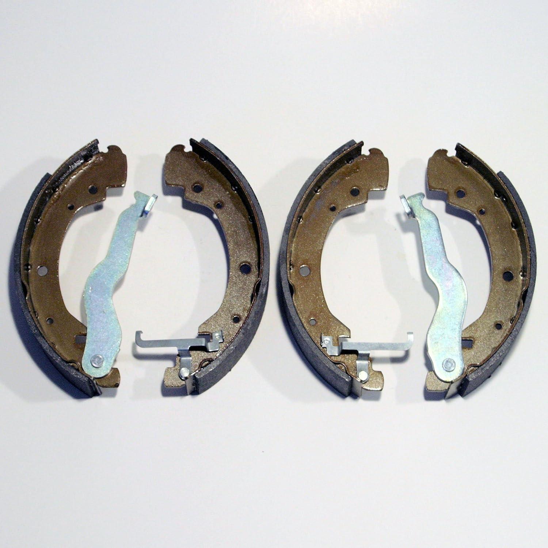 4 x Bremsbacken Trommelbremse hinten