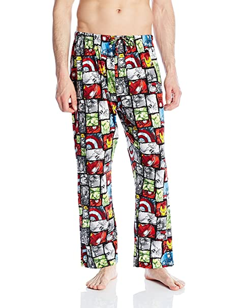 Marvel Mens Avengers Lounge Pants