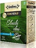 GeeBees Chai Gold Instant Premix Elaichi Tea Low sugar 80g