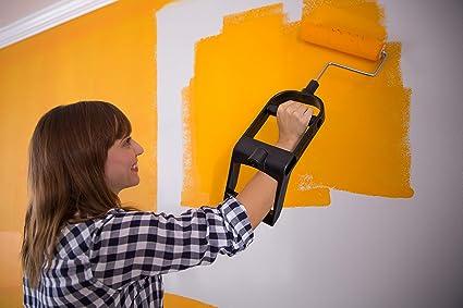 All New Ergonomic Paint Brush Roller Applicator And Handle Setkit