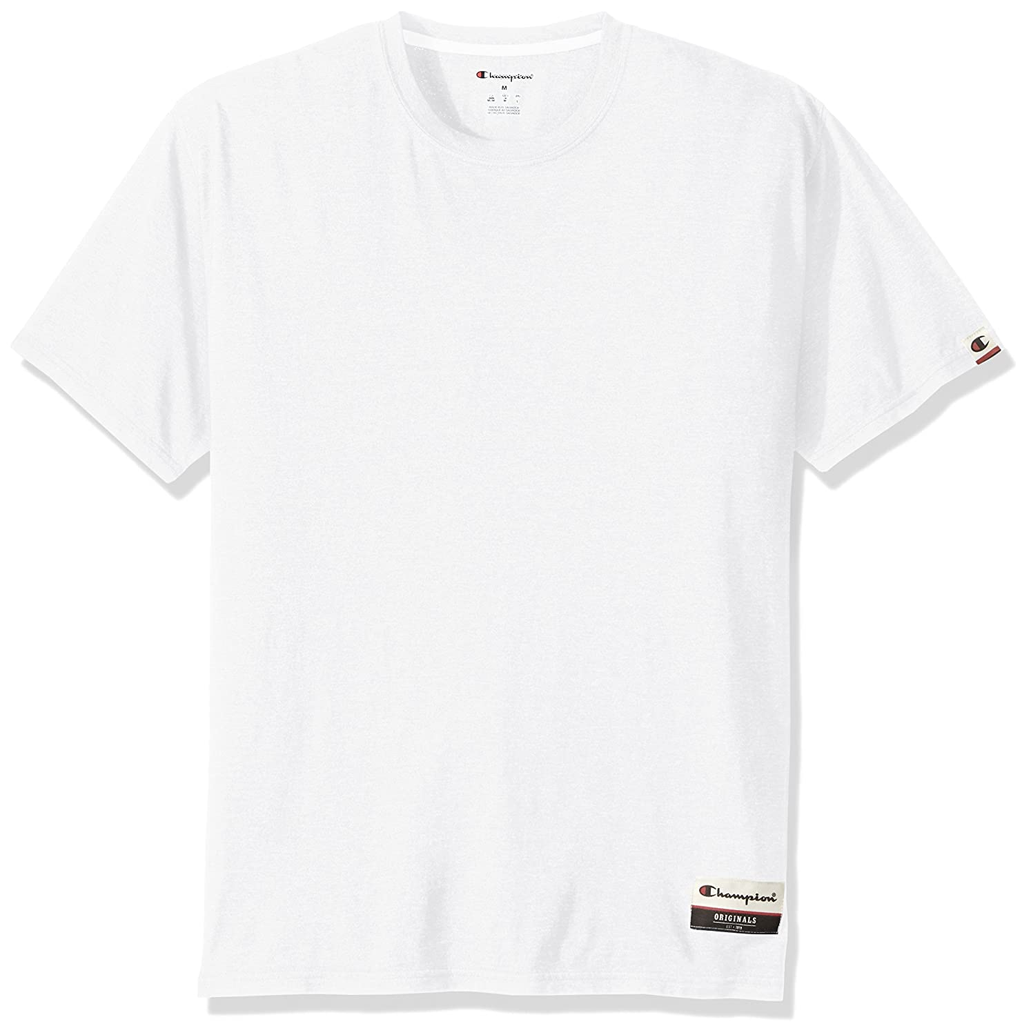 Champion Mens Authentic Originals Soft Wash Short Sleeve Tee Champion Branded Printwear OAO20