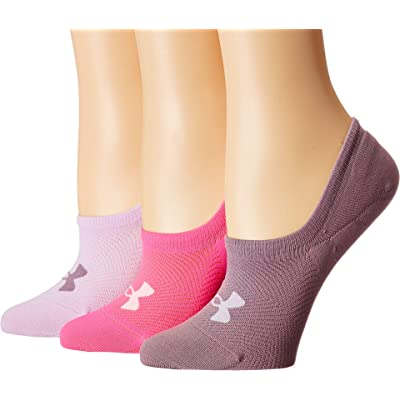 Under Armour Women's Essentials Ultra Low Socks, 3-Pairs: Clothing