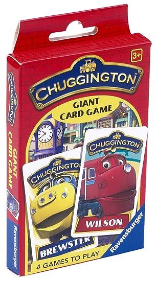 Amazon.com: Ravensburger Chuggington – Juego de tarjeta de ...