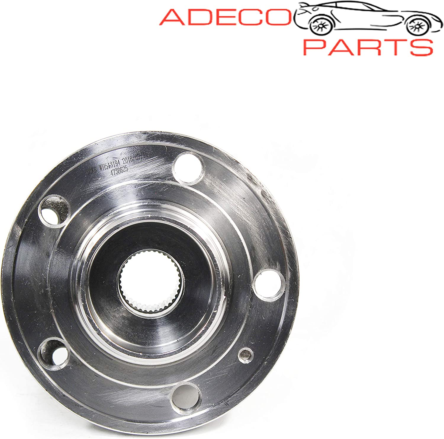 AdecoAutoParts/© 2 Front Wheel bearing /& Hub Assembly 513194 BR930277 for Volvo S60 S80 V70 XC70