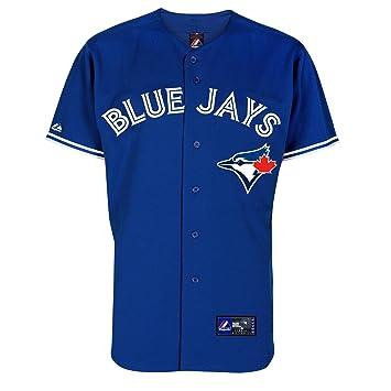 Majestic - Réplica de camiseta oficial de MLB Toronto Blue Jays (segunda equipación) Talla:small: Amazon.es: Deportes y aire libre
