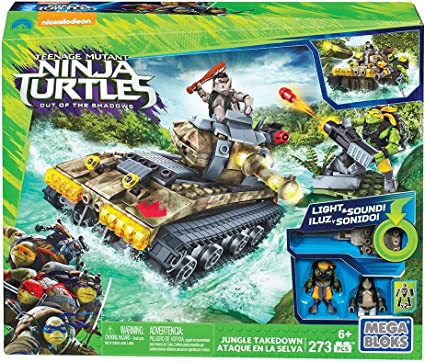 Amazon.com: Set de tanque selvático de Mega Blocks de ...
