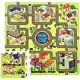 Tapis puzzle - circuit de route - 934740412