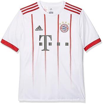 adidas FCB UCL JSY Y Camiseta de Equipación-Línea FC Bayern de Munich 938b21be95a