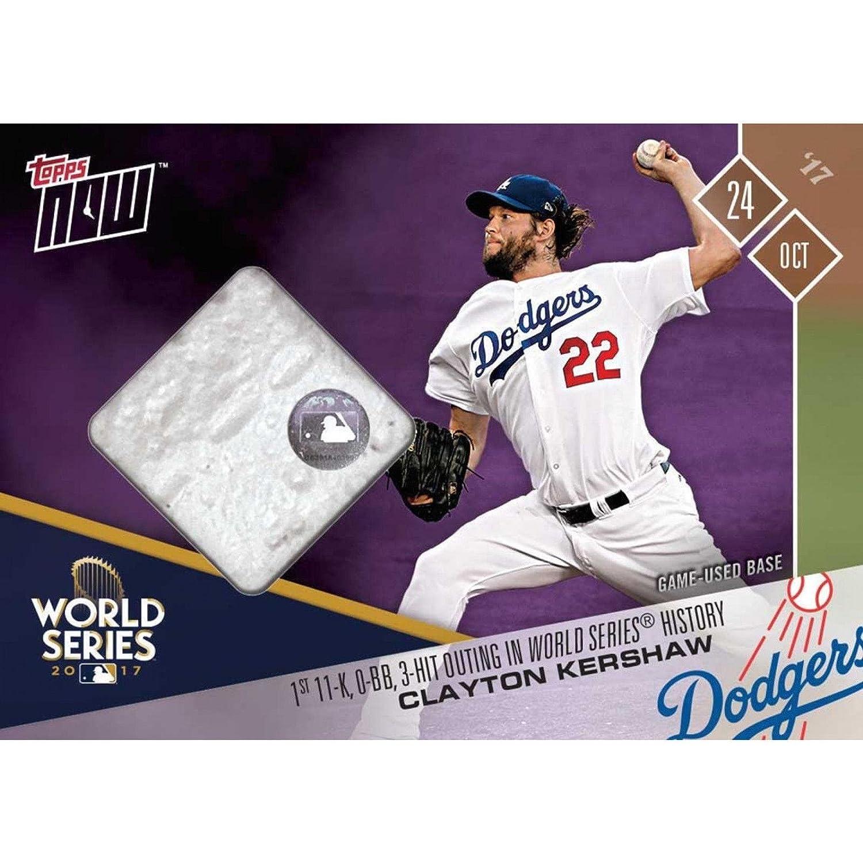 sports shoes 1f851 74556 Amazon.com: Clayton Kershaw 2017 La Dodgers World Series ...