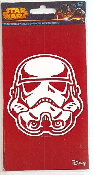Star wars stormtrooper sticker decal