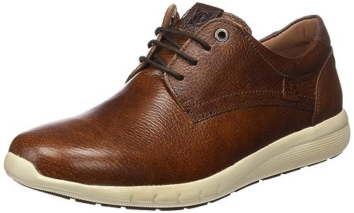 Coronel Tapioca FL, Zapatos de Cordones Brogue para Hombre, Marrón (Cuero), 42 EU