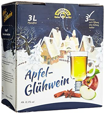 Walthers Apfel Zimt Glühwein 1 X 3 L Amazonde Bier Wein