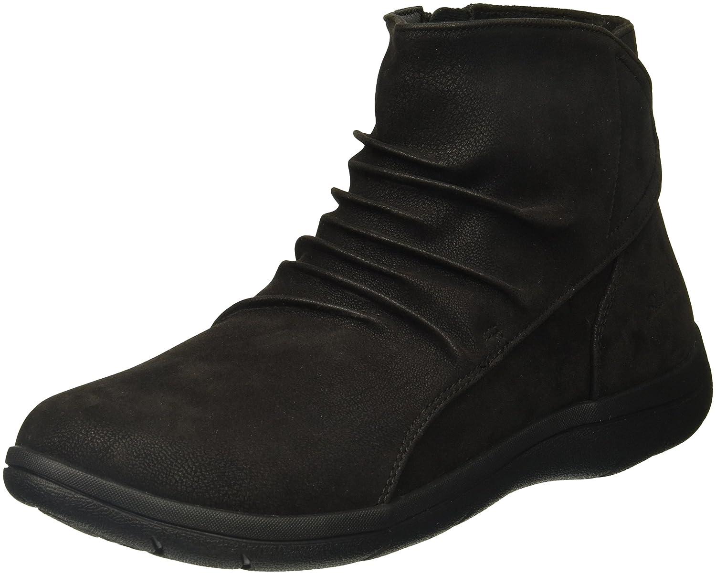 Skechers Women's Lite Step-Tricky Ankle Bootie B06XCJ5BL2 5.5 B(M) US|Black