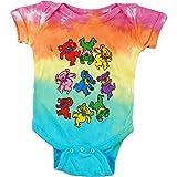 Grateful Dead Baby Boys' Spiral Bears Bodysuit