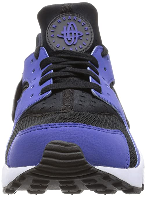 low priced dfd7b cf339 Nike - Air Hurache - 318429411 - Color Black-Blue-White - Size 10. 0 Buy  Online at Low Prices in India - Amazon.in