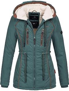 Winter Damen Jacke Winterjacke Teddyfell Marikoo Warme CBrxodeW