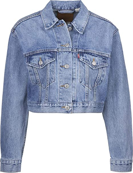 Levis ® Cropped Trucker W Chaqueta vaquera small talk ...