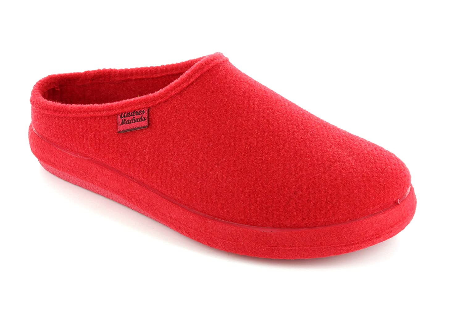 Andres Machado.AM001.AUTHÉNTIQUES B00MY4MVGQ chaussons MADE 26/50 IN SPAIN Unisex.Petites et Grandes Rouge Pointures. 26/50 Rouge a7940ab - therethere.space