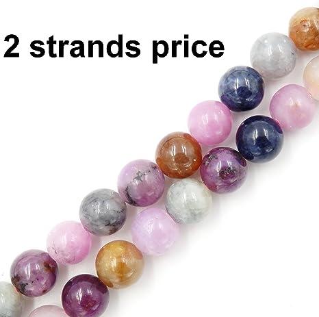 Morganite Round Beads 6mm Mixed 60 Pcs Gemstones DIY Jewellery Making Crafts