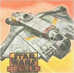 Amscan 501841 Star Wars Rebels Beverage Napkins, 16pcs, Party Favor
