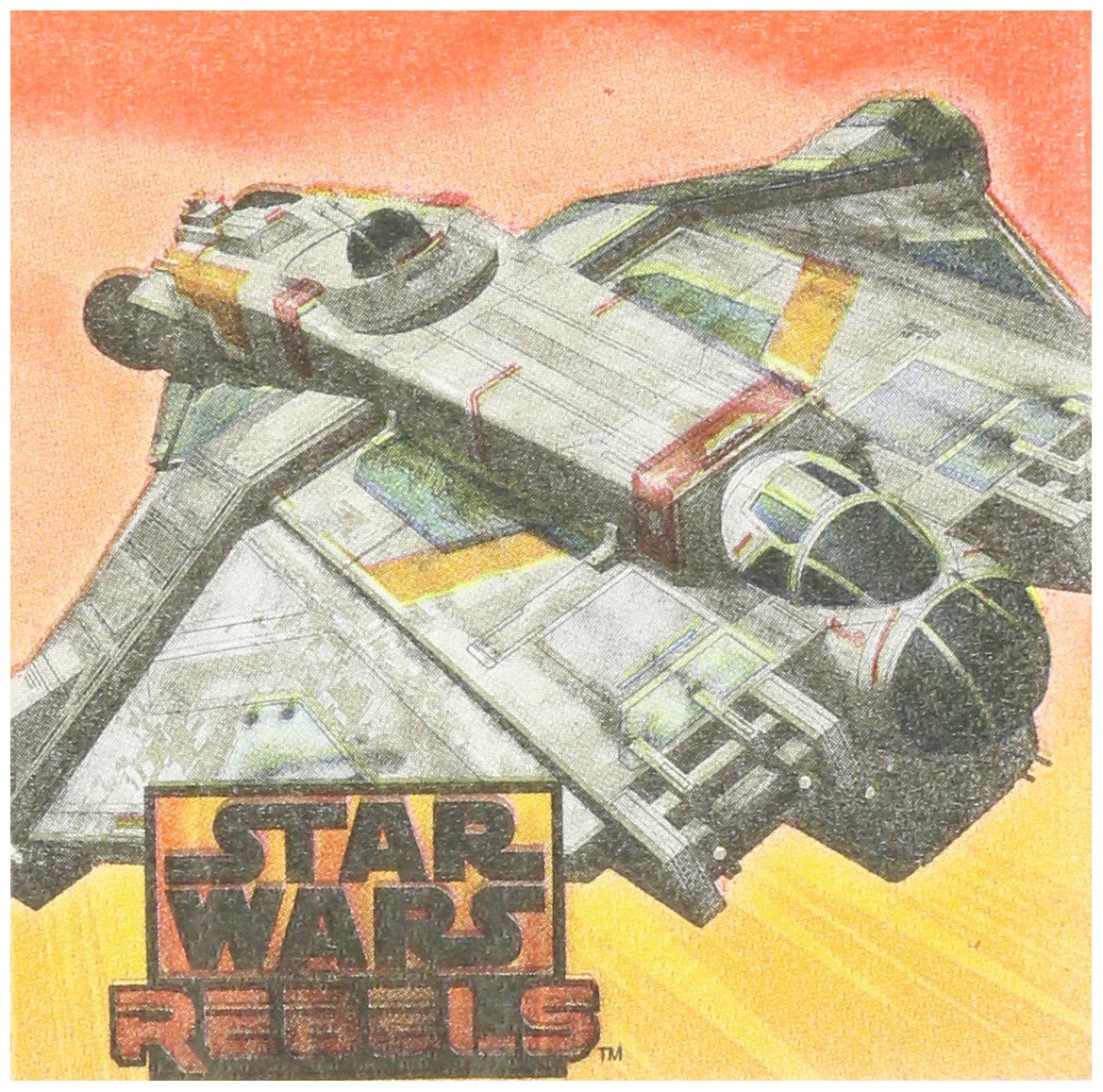Star Wars Rebels Beverage Napkins (16) スターウォーズ反乱軍飲料ナプキン(16)ハロウィンクリスマス B00OD1S7U2
