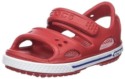 fdb656c9575b67 crocs Boy s Crocband II PS Jean Sandals  Buy Online at Low Prices in ...