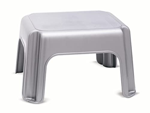 Addis Step Stool Metallic Amazon Co Uk Kitchen Amp Home