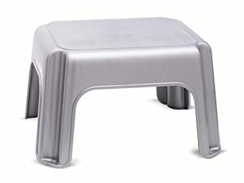 ADDIS Step Stool, Metallic
