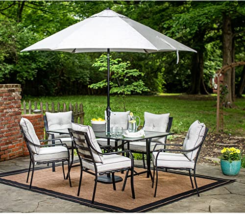 Hanover Lavallette 7 Piece Outdoor Dining Set