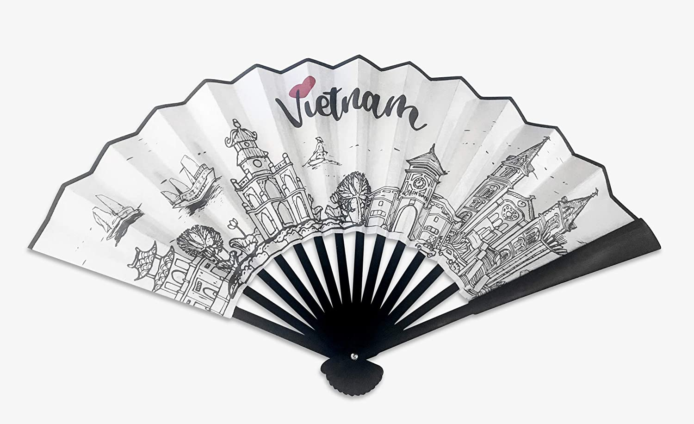 Artbook Fabric Hand Fan (Vietnam), Fabric Hand Fan, Hand held Fan, Cool Fan, Portable Hand Fan, Cooling Tool, Home Decor, Amazon Home Decor, Modern Home Decor, Bohemian Home Decor, Home Decor Bedroom
