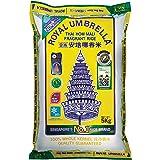 Royal Umbrella Thai Hom Mali New Crop Rice, 5kg (Vacuum Packed)