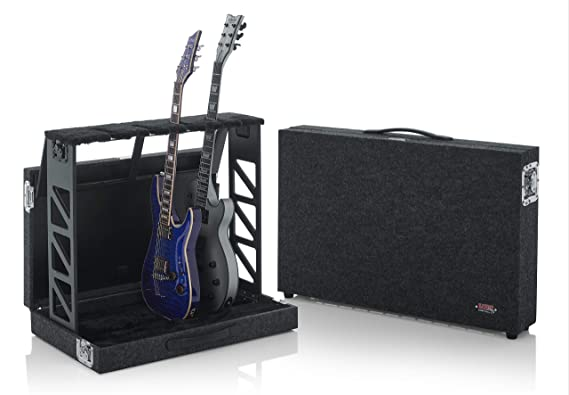 Amazon.com: Soporte para 4 guitarras estilo rack que se ...
