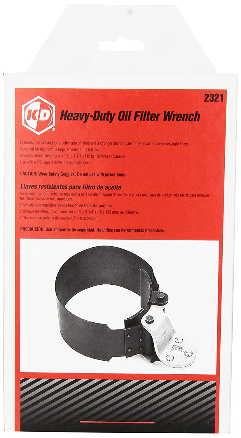 Gearwrench 2321 Heavy Duty Oil Filter Wrench 4 1 2 To 5 Gm Fuel Replacement Home Improvement