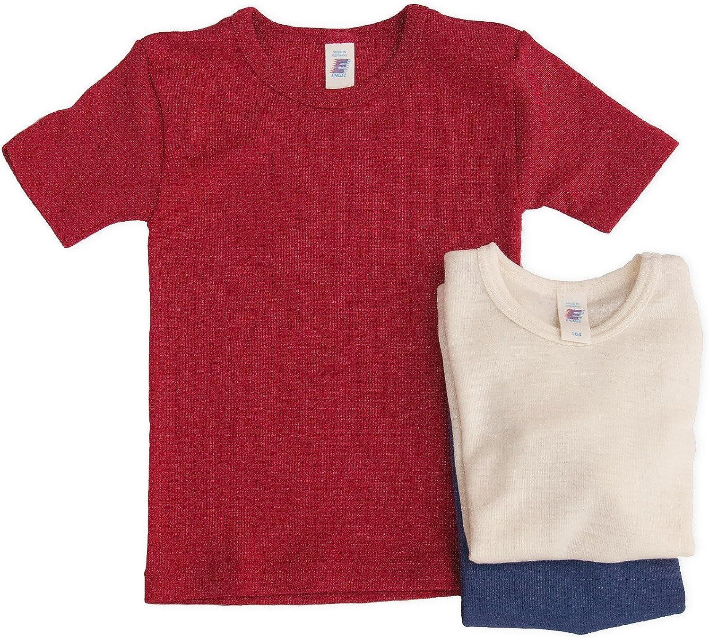 /Ángel camiseta manga corta lana seda tama/ño 92/-/176 Engel Axil