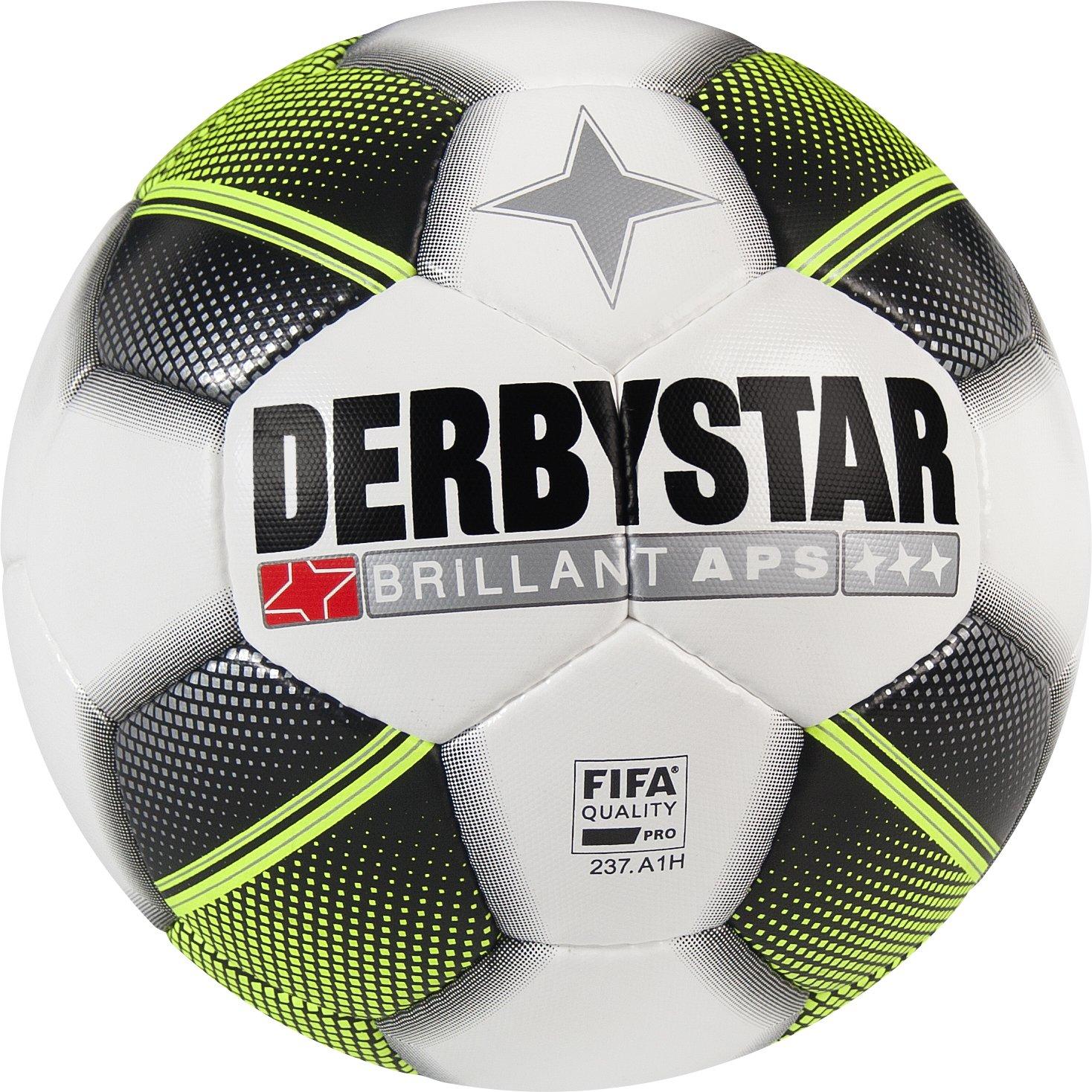 Derbystar Brillant APS, 5, weiß schwarz gelb, 1730500125