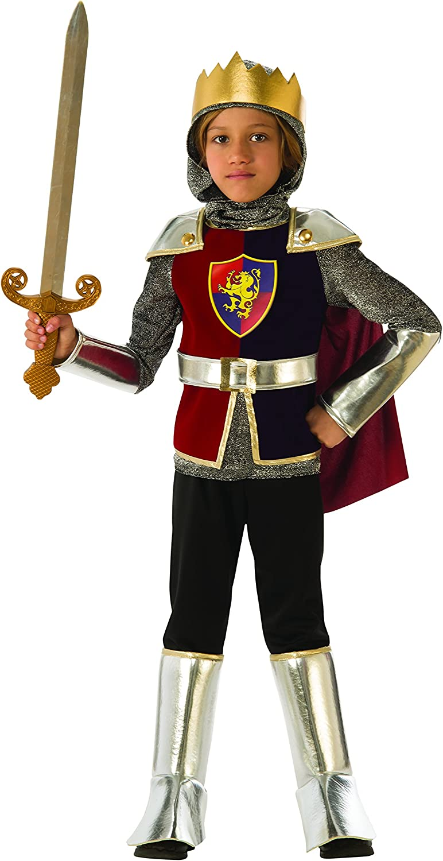 Rubies - Disfraz de caballero medieval para niño, talla 5-6 años (Rubies 641138-M)