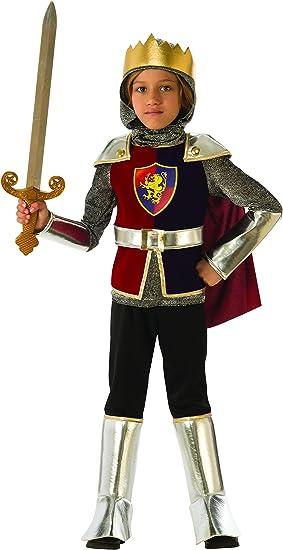 Rubies - Disfraz de caballero medieval para niño, talla 7-8 años ...