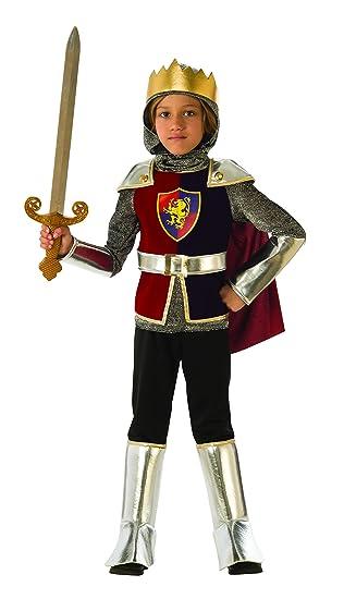 Rubies - Disfraz de caballero medieval para niño, talla 7-8 años (Rubies 641138-L)