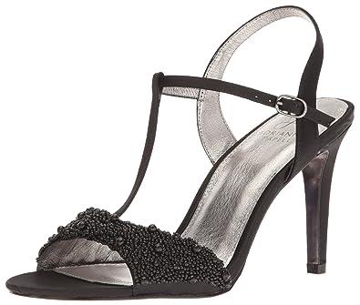 ce60d8f29f9 Adrianna Papell Women s Alia Dress Sandal Black 6 US 6 ...